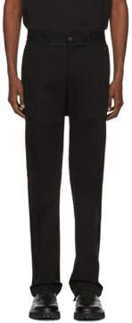 Yang Li Black New Chino Trousers
