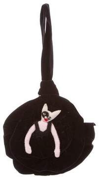 Olympia Le-Tan Cat-Embellished Handle Bag