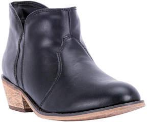 Dingo Black Round Short Cowboy Boot - Women