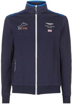 Hackett Great Britain Zip-Up Racing Jacket