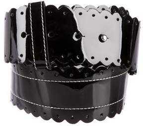 3.1 Phillip Lim Patent Leather Waist Belt