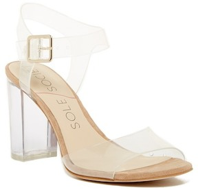 Sole Society Larisa Clear Sandal