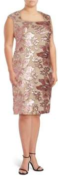 Isaac Mizrahi Sequin Embellished Dress