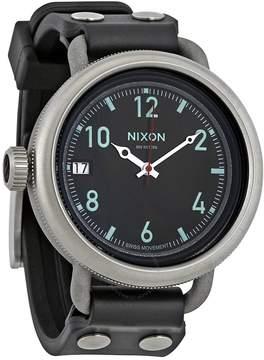 Nixon October Molded Rubber Dial Men's Watch A488000