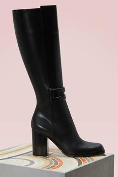 Loewe High leather boots