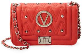 Mario Valentino Valentino by Women's Beatrized Sauvage Leather Crossbody Bag