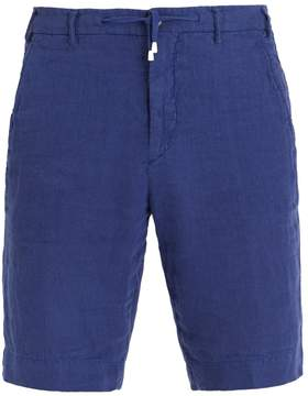 J.w.brine J.W. BRINE Drawstring-waist linen shorts