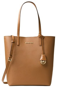 MICHAEL Michael Kors Hayley Large Convertible Tote - ACORN / OYSTER - STYLE