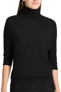 Chaps Women's Jersey Turtleneck