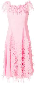 Blumarine distressed style dress