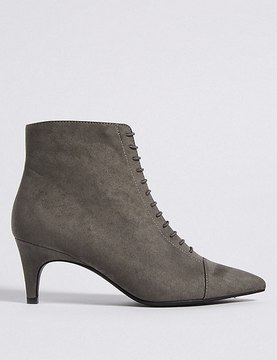 Marks and Spencer Kitten Heel Point Toe Ankle Boots