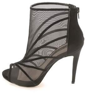 INC International Concepts Women's Reealto Peep Toe Platform & Wedge Boots.