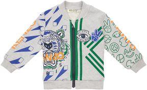 Kenzo Emoji Zip-Up Sweater
