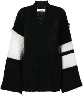 Circus Hotel oversized V-neck jumper