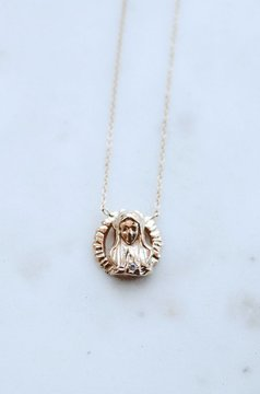 Lily Ashwell Blessed Mother Necklace