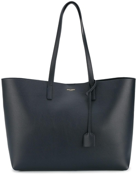 Saint Laurent Leather Shopper Tote - ONE COLOR - STYLE