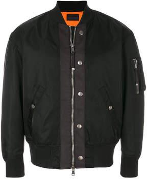 Diesel Black Gold zipped bomber jacket
