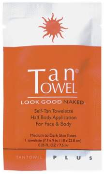 TanTowel Half Body Plus Self-Tanning Towelette - Single