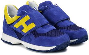 Hogan sporty panelled sneakers