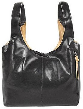 Fontanelli Black & Tan Reversible Italian Leather Handbag