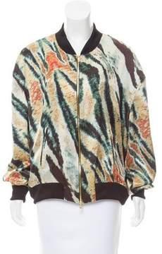 Baja East Printed Silk Jacket w/ Tags
