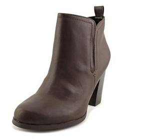 American Rag Seleste Women Round Toe Synthetic Brown Ankle Boot.
