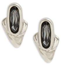 Uno de 50 Faceted Stud Earrings