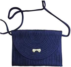 Nina Ricci Vintage Blue Cotton Handbag