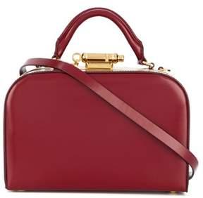 Sophie Hulme Women's Red Leather Handbag.