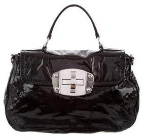 Miu Miu Patent Leather Satchel
