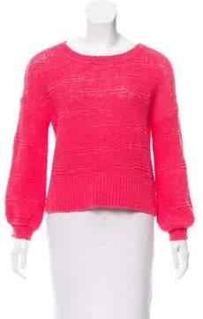 White + Warren Long Sleeve Crew Neck Sweater