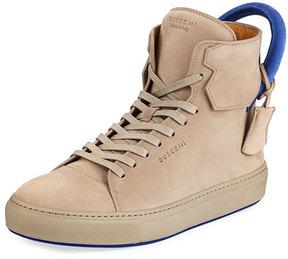Buscemi Men's 125mm Nubuck High-Top Sneaker