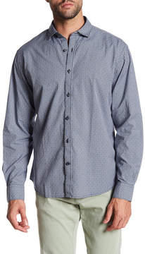 James Campbell Luca Plaid Long Sleeve Regular Fit Shirt