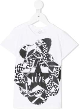 Givenchy Kids graphic print T-shirt