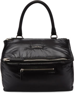 Givenchy Black Nylon Medium Pandora Bag