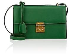 Mark Cross Women's Downtown Leather Shoulder Bag - Md. Green