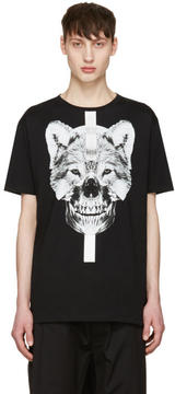 Marcelo Burlon County of Milan Black Moises T-Shirt