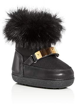 Giuseppe Zanotti Girls' Faux Fur Moon Boots - Walker, Toddler