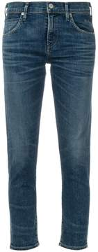 Citizens of Humanity cropped slim-fit jeans
