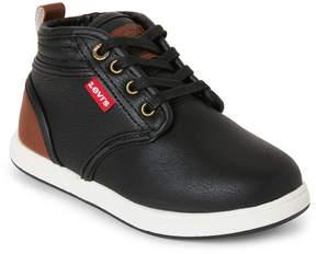 Levi's Toddler/Kids Boys) Black & Brown Bishop Chukka Sneakers