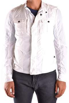CNC Costume National Men's White Outerwear Jacket.