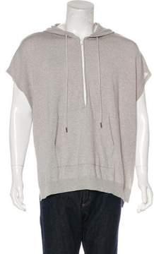 ATM Anthony Thomas Melillo Sleeveless Knit Oversize Hoodie w/ Tags
