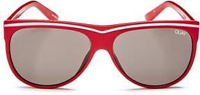 Quay Hollywood Nights Square Sunglasses, 55mm