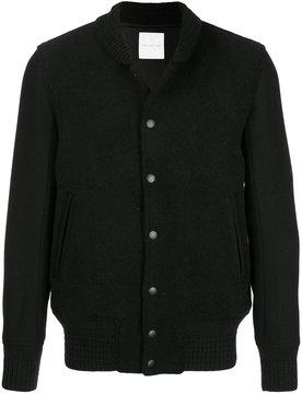 ESTNATION buttoned bomber jacket