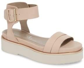 AGL Quarter Strap Platform Sandal