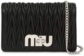 Miu Miu Small My Miu Quilted Leather Bag