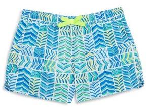 Vineyard Vines Toddler Girl's Whaletail Patchwork Shorts
