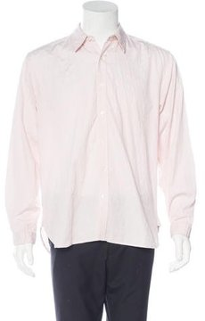Oliver Spencer Striped Jacquard Shirt