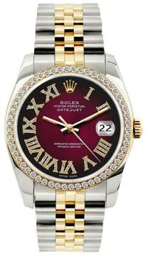 Rolex Datejust Yellow Gold and Stainless Steel 36mm Mens Watch