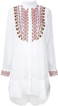 Ermanno Scervino embroidered shirt dress
